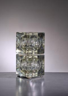 Alessandro Mendini Pair of Cubosfera Table Lamps by Alessandro Mendini - 1951650