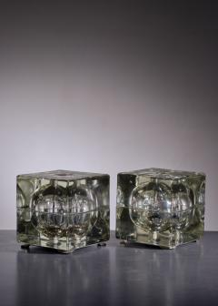 Alessandro Mendini Pair of Cubosfera Table Lamps by Alessandro Mendini - 1951651