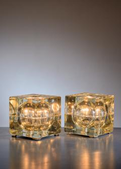 Alessandro Mendini Pair of Cubosfera Table Lamps by Alessandro Mendini - 1951652
