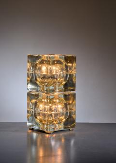 Alessandro Mendini Pair of Cubosfera Table Lamps by Alessandro Mendini - 1951653