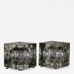 Alessandro Mendini Pair of Cubosfera Table Lamps by Alessandro Mendini - 1953045