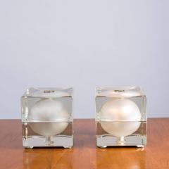 Alessandro Mendini Pair of Cubosfera Table Lamps by Alessandro Mendini for Fidenza Vetraria - 786830