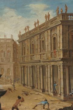Alessandro Salucci Circle of Alessandro Salucci Italian Oil on Canvas - 791679