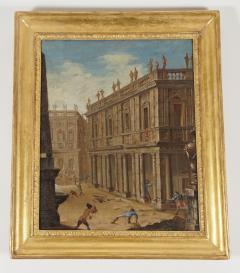 Alessandro Salucci Circle of Alessandro Salucci Italian Oil on Canvas - 791681
