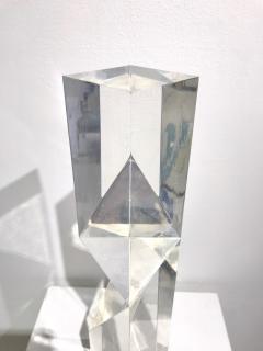 Alessio Tasca TOEM PRISM LUCITE SCULPTURE - 1934647