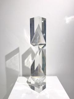 Alessio Tasca TOEM PRISM LUCITE SCULPTURE - 1934648