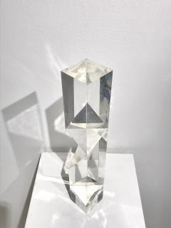 Alessio Tasca TOEM PRISM LUCITE SCULPTURE - 1934652