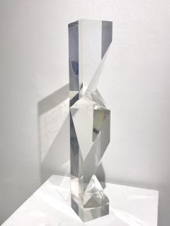 Alessio Tasca TOEM PRISM LUCITE SCULPTURE - 1934656