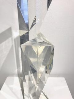 Alessio Tasca TOEM PRISM LUCITE SCULPTURE - 1934657