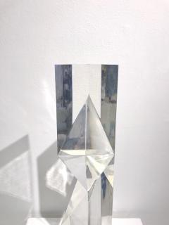 Alessio Tasca TOEM PRISM LUCITE SCULPTURE - 1934658