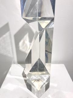 Alessio Tasca TOEM PRISM LUCITE SCULPTURE - 1934659