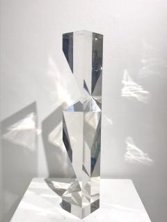 Alessio Tasca TOEM PRISM LUCITE SCULPTURE - 1934660