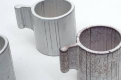 Alessio Tascsa Alessio Tasca Ceramic Demitasse Cups and Sugar Bowl Italy 1970s - 443473