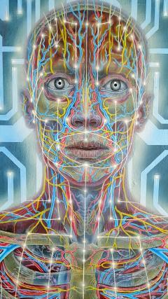 Alex Grey Body Mind and Spirit - 398807