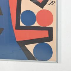 Alexander Calder Abstract Asymetrie Tree Lithograph by Alexander CALDER Calder 72  - 1287341