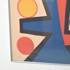 Alexander Calder Abstract Asymetrie Tree Lithograph by Alexander CALDER Calder 72  - 1287342