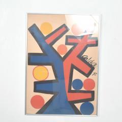 Alexander Calder Abstract Asymetrie Tree Lithograph by Alexander CALDER Calder 72  - 1287343