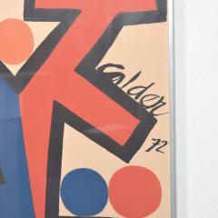 Alexander Calder Abstract Asymetrie Tree Lithograph by Alexander CALDER Calder 72  - 1287346
