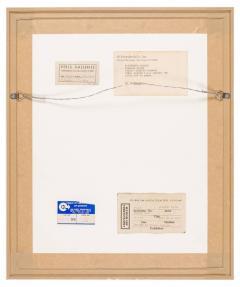 Alexander Calder Alexander Calder Signed Dated India Ink on Paper Stabile Drawing USA 1946 - 646069
