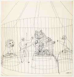 Alexander Calder Calders Circus Complete Set of Lithographs Signed Limited Edition 6 100 - 1704006