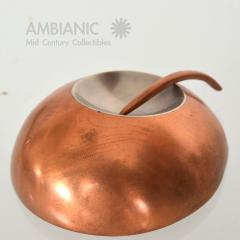 Alexander Calder Mid Century Modernist Copper and Stainless Pin - 345052