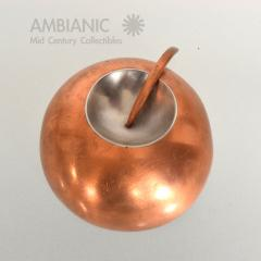 Alexander Calder Mid Century Modernist Copper and Stainless Pin - 345054