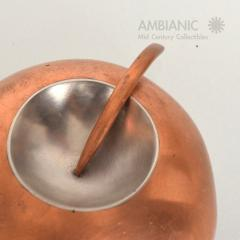 Alexander Calder Mid Century Modernist Copper and Stainless Pin - 345055