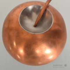 Alexander Calder Mid Century Modernist Copper and Stainless Pin - 345056