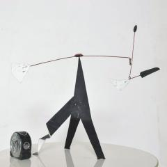 Alexander Calder Modern Abstract Kinetic Table Art Metal MOBILE after Alexander Calder 1960s - 1808147