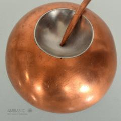 Alexander Calder Modernist Metal Art Copper Stainless Steel Brooch after Alexander CALDER 1960s - 1540819