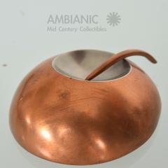 Alexander Calder Modernist Metal Art Copper Stainless Steel Brooch after Alexander CALDER 1960s - 1540820