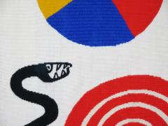 Alexander Calder Tapestry La Poire Le Fromage et Le Serpent - 991530