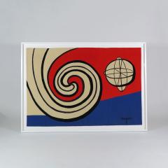 Alexander Calder Tapestry Le Sphere et les Spirales - 994246