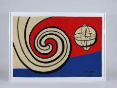 Alexander Calder Tapestry Le Sphere et les Spirales - 994247
