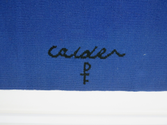 Alexander Calder Tapestry Le Sphere et les Spirales - 994248