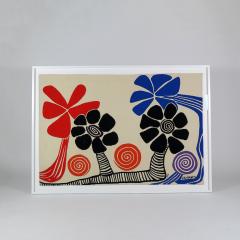 Alexander Calder Tapestry Les Palmiers - 994242