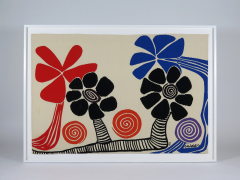 Alexander Calder Tapestry Les Palmiers - 994243