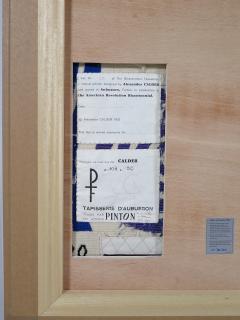 Alexander Calder Tapestry Les Palmiers - 994245