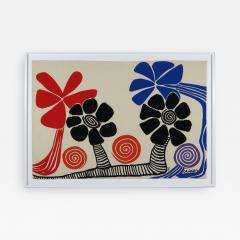 Alexander Calder Tapestry Les Palmiers - 994940