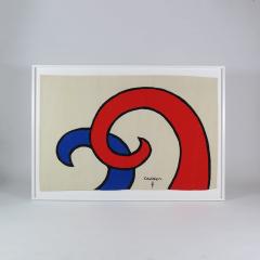 Alexander Calder Tapestry Les Vagues - 994238