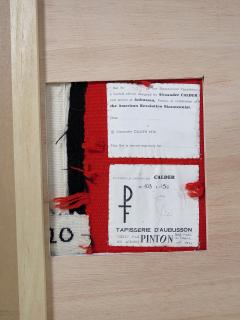 Alexander Calder Tapestry Les Vagues - 994241