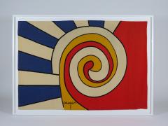 Alexander Calder tapestry Trois Spirales - 994223