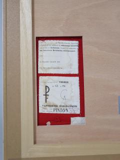 Alexander Calder tapestry Trois Spirales - 994226