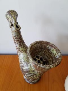 Alexander Kostanda Vase Coq Ceramic Bird Vase - 667694