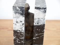 Alexandre Sosnowsky Marble and Bronze Sculpture Obliteration by Sacha Sosno - 1581207