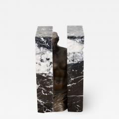 Alexandre Sosnowsky Marble and Bronze Sculpture Obliteration by Sacha Sosno - 1582793