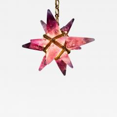 Alexandre Vossion AMETHYST STAR III CHANDELIER GOLD EDITION - 776254