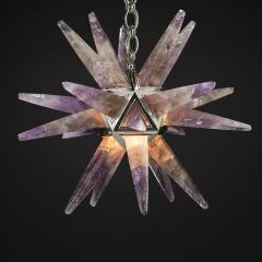Alexandre Vossion AMETHYST STAR III LIGHTING SILVER EDITION - 771840
