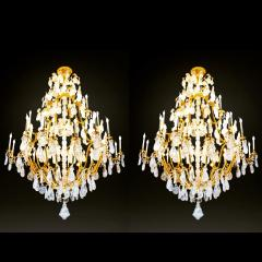 Alexandre Vossion Biggest Pair Of Rock Crystal Lightings in the World By Alexandre VOSSION - 778993