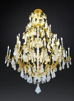 Alexandre Vossion Biggest Pair Of Rock Crystal Lightings in the World By Alexandre VOSSION - 778997